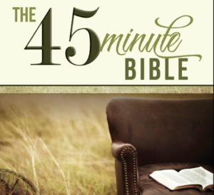 The 45 Minute Bible by Dr. Michael Bogart, Aspect Ministries
