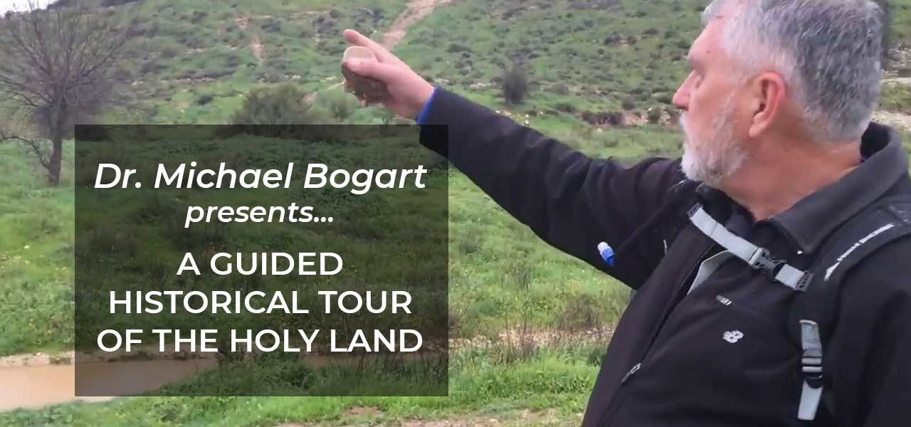Guided Historical Tour of the Holy Land | Valley of Elah (Video 2)